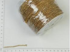 Cadena dorada Nº8 (carretel x 100mts)