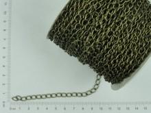 Cadena simple bronce (1mm x 50 mts)