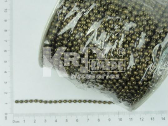 Cadena bolita 0,32 mm x 50 mts