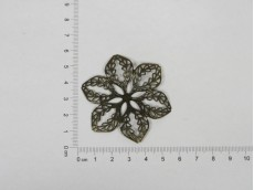 Chapón flor bronce