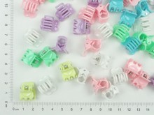 Mini broche infantil corazón pastel x 100