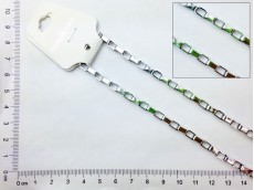 Cadena de acero eslabón rectangular