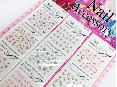 Sticker para uñas en blister