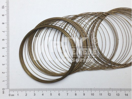 Alambre bronce en espiras x 1 kg