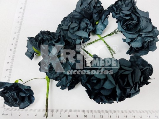 Flor de papel x 72 unidades