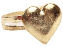 Anillo corazon (dorado)