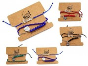 Set pulseras lucky-love x3u