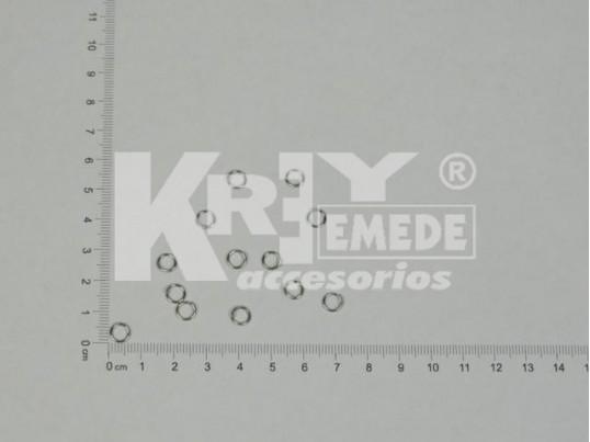 Argolla níquel (0,5 mm x 7 mm)