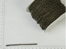 Cadena bronce de eslabones redondos (carretel x 50mts)