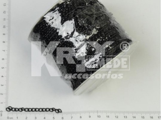 Cadena negra 1mm x 50 mts