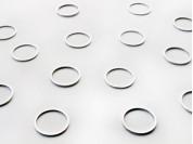 Dije circulo liso 1.6 mm