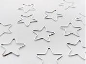 Dije estrella lisa 2.8 mm