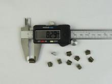 Apretador de cinta bronce (8 mm)