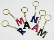 Llavero letras esmaltadas